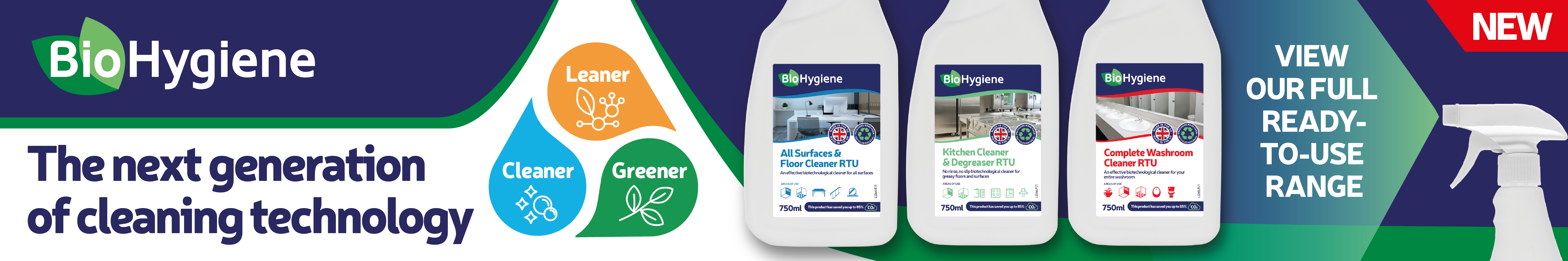 Biotech cleaning products