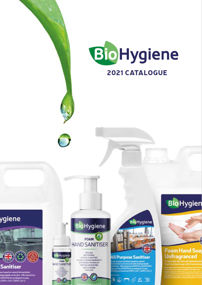 Download BioHygiene's full product catalogue